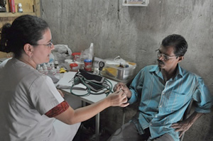 Doctors provide service to the surrounding community