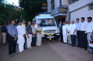 Lotus Medical Foundation, Kolhapur - Rotary Donation mobile Medical unit